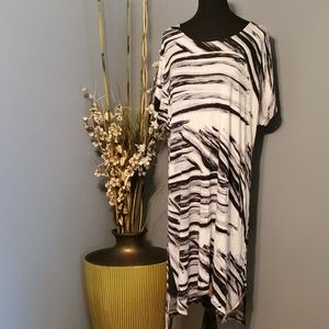Indigo Thread Co. Open Shoulder High Low Dress